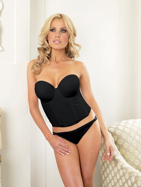 world Melinda black bikini real