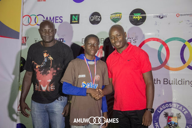 AmuwoGames surprised spectators with a colorful and outstanding finish