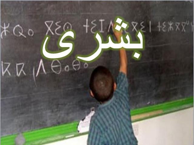 اعلان هام لاساتذة اللغة الامازيغية