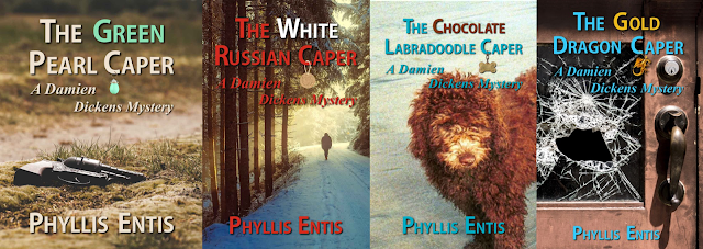 THE DAMIEN DICKENS SERIES by Phyllis Entis on Amazon
