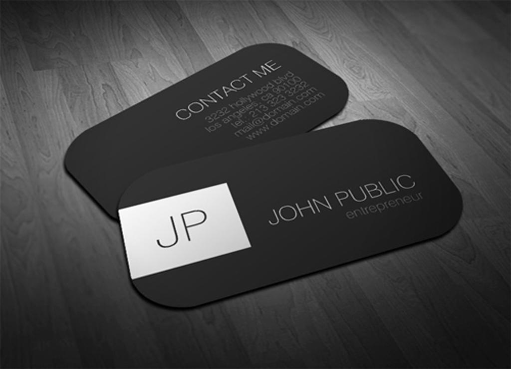 entrepreneur business card samples images - Fieldstation.co