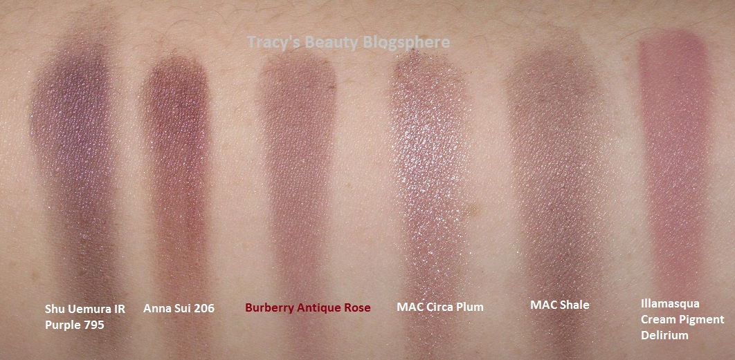 Burberry Antique Rose Eyeshadow Make Up Ideas