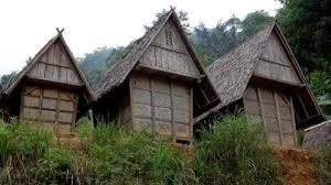 atap rumah baduy disebut sulah nyanda
