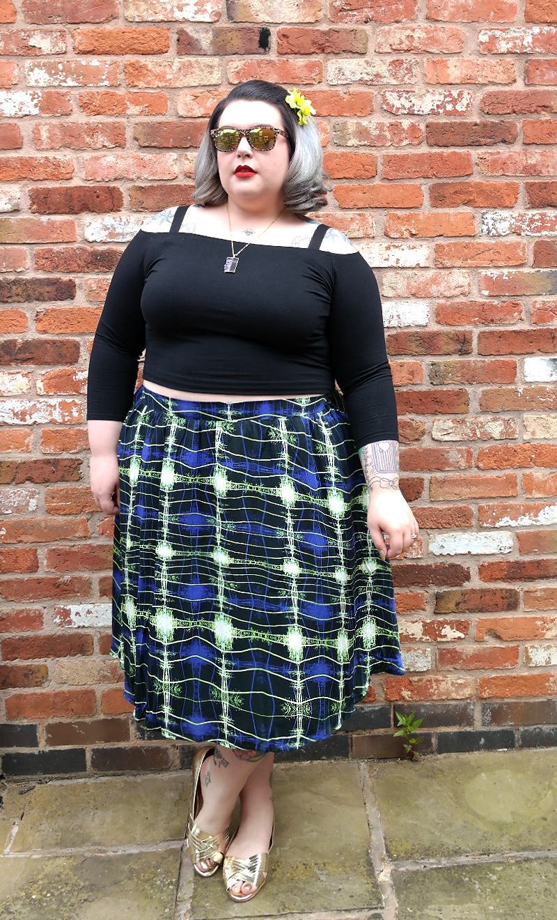 Plus Size Crop Top Zizzi Print Skirt Navabi Evans Shoes