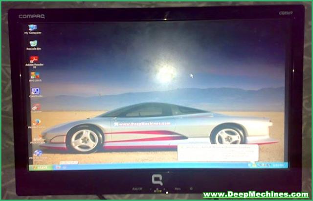 Penyebab Kerusakan Korslet / Short pada Monitor LCD Compaq CQ1569