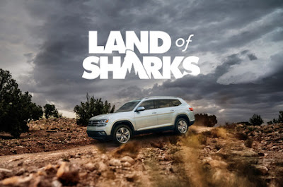 Volkswagen Unleashes Land of Sharks Campaign