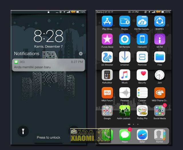 TOP IOS Theme For MIUI - Tema MIPHONE Themes Mtz Seperti Iphone Update