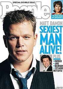 Matt Damon é o homem mais sexy do mundo 2007 - foto: divulgação