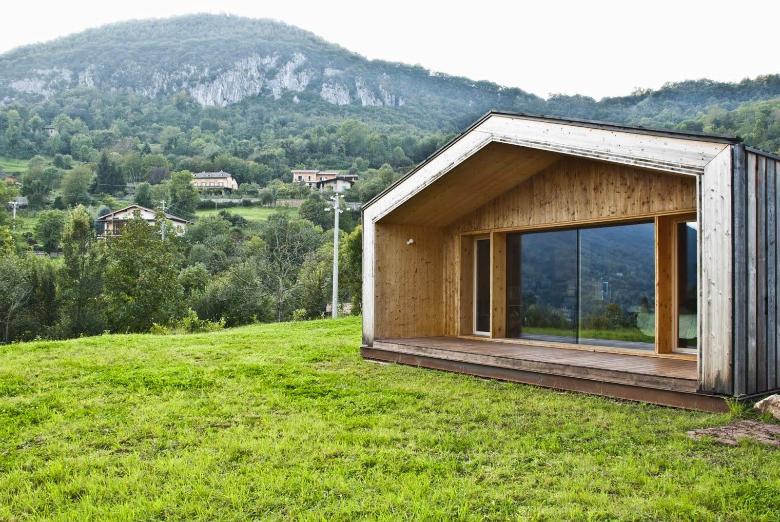 Prima Casa Passiva costruita in montagna