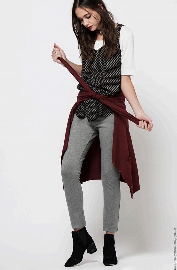 Moda invierno 2017 blusas de moda mujer. Ropa de mujer invierno 2017.
