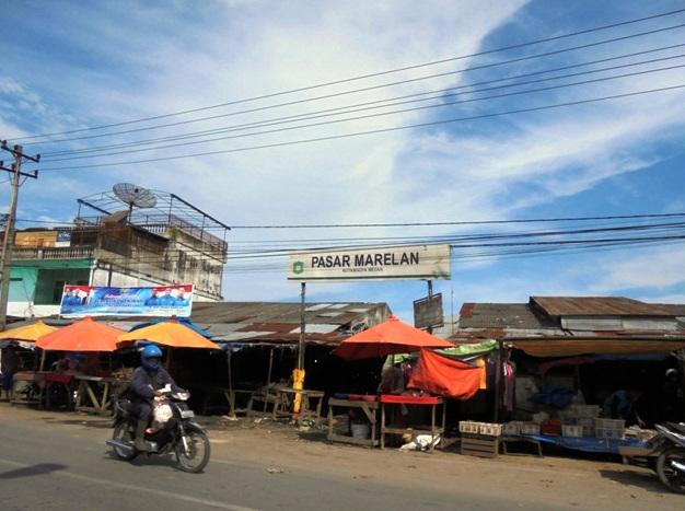 Marelan Kota, Lapak Pedagang Sepanjang 75,7 Kilometer