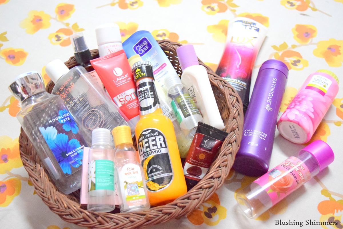 Product Empties and Repurchases