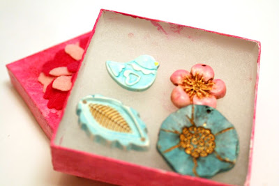 Echo Creative Club by Jeannie Dukic: art beads, polymer clay :: All Pretty Things