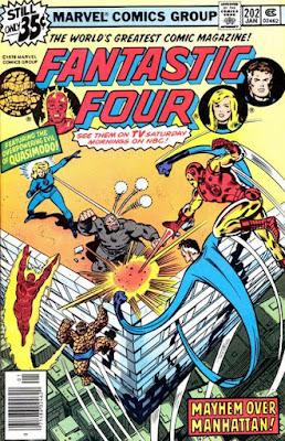 Fantastic Four #202, Quasimodo