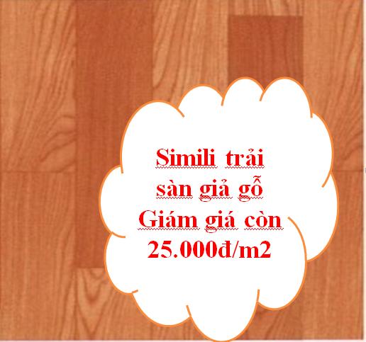 simili trải sàn giả gỗ được ưa chuộng nhất hiện nay