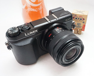 Jual Panasonic Lumic GX7 + Kit 14-42mm MEGA OIS