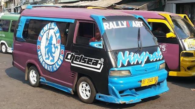 Mobil angkot terkeren di Indonesia