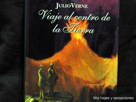 Libro Viaje al centro de la Tierra, Julio Verne