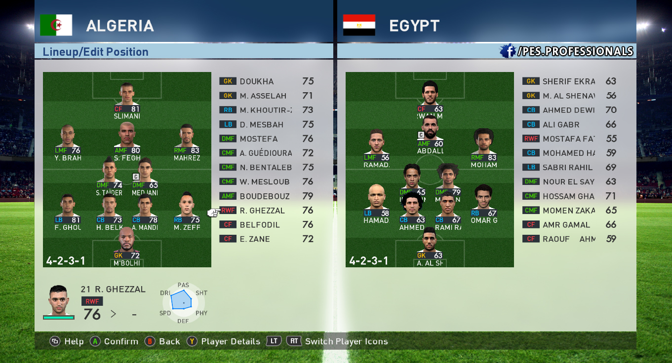 EGYPT PES Professionals V1