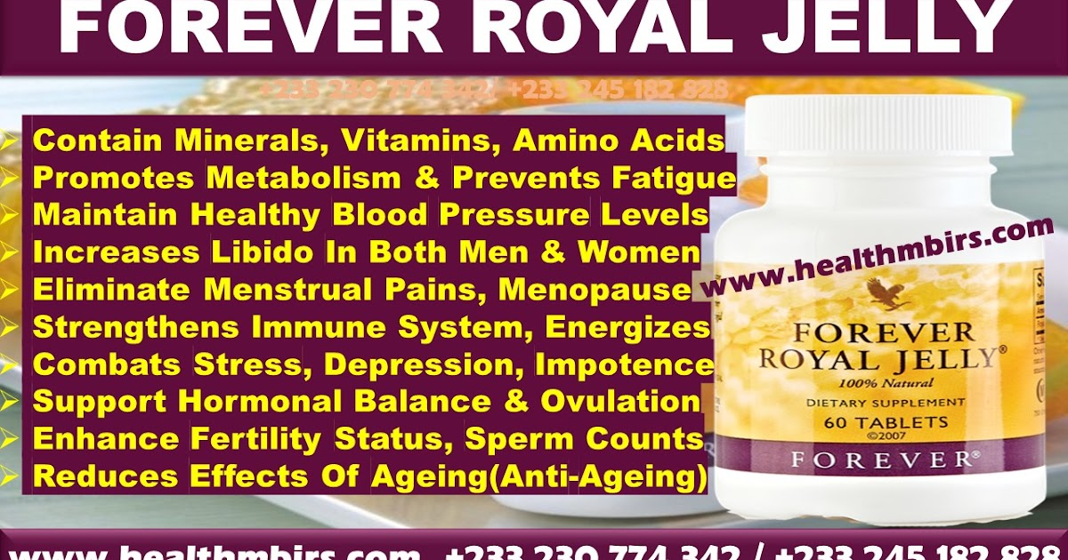Forever Royal Jelly Health Benefits For Men And Women
