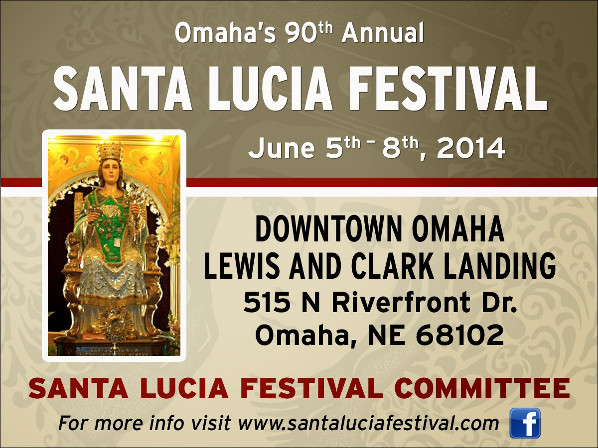 il regno announcing the 90th annual santa lucia festival omaha nebraska. Black Bedroom Furniture Sets. Home Design Ideas