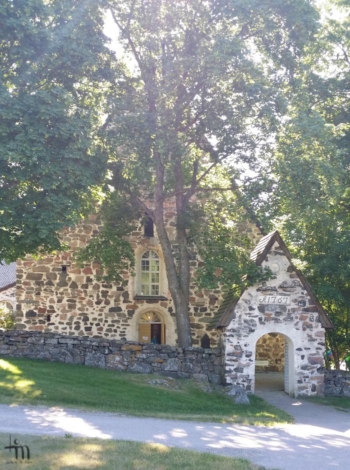 Nauvon kirkko Turun saaristossa - Nauvo church