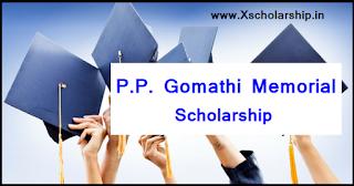 P.P. Gomathi Memorial Scholarship 2017-18