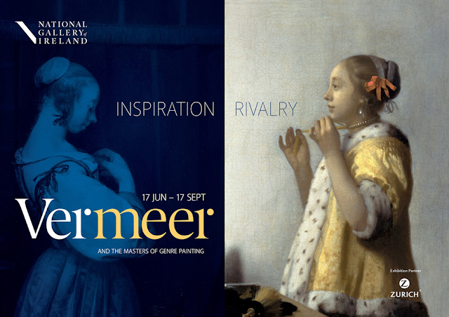 Dublin Vermeer exhibit poster August 2017