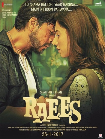 Free Download Raees 2017 Hindi 720p WEBRip 1GB