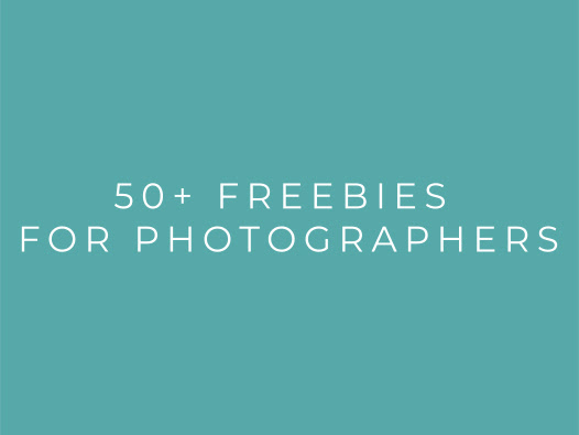 50+ Freebies for Photographers