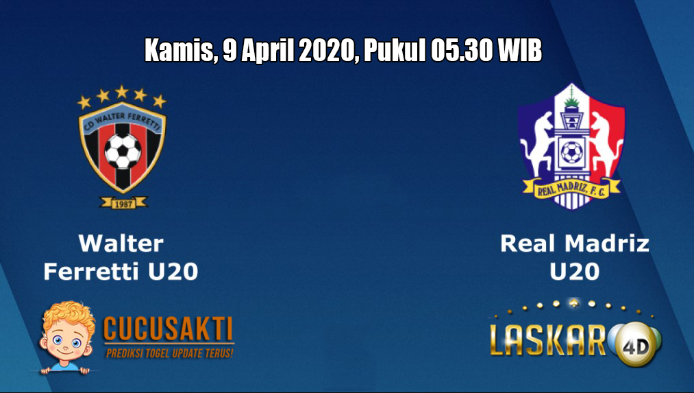 Prediksi Ferretti U20 VS Real Madriz U20 9 April 2020