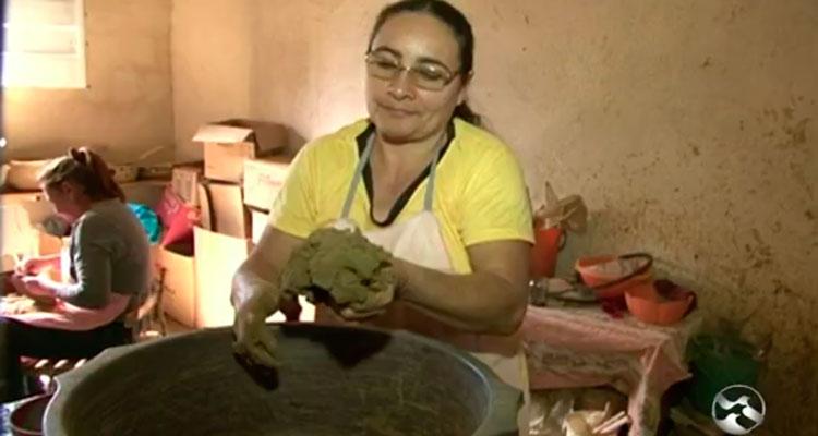 Reportagem sobre Grupo de Mulheres Artesãs de Brejinho