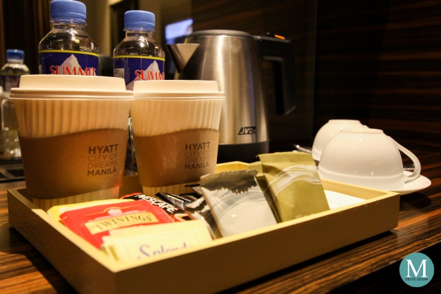 Hyatt City of Dreams Manila Club Room Coffee Maker