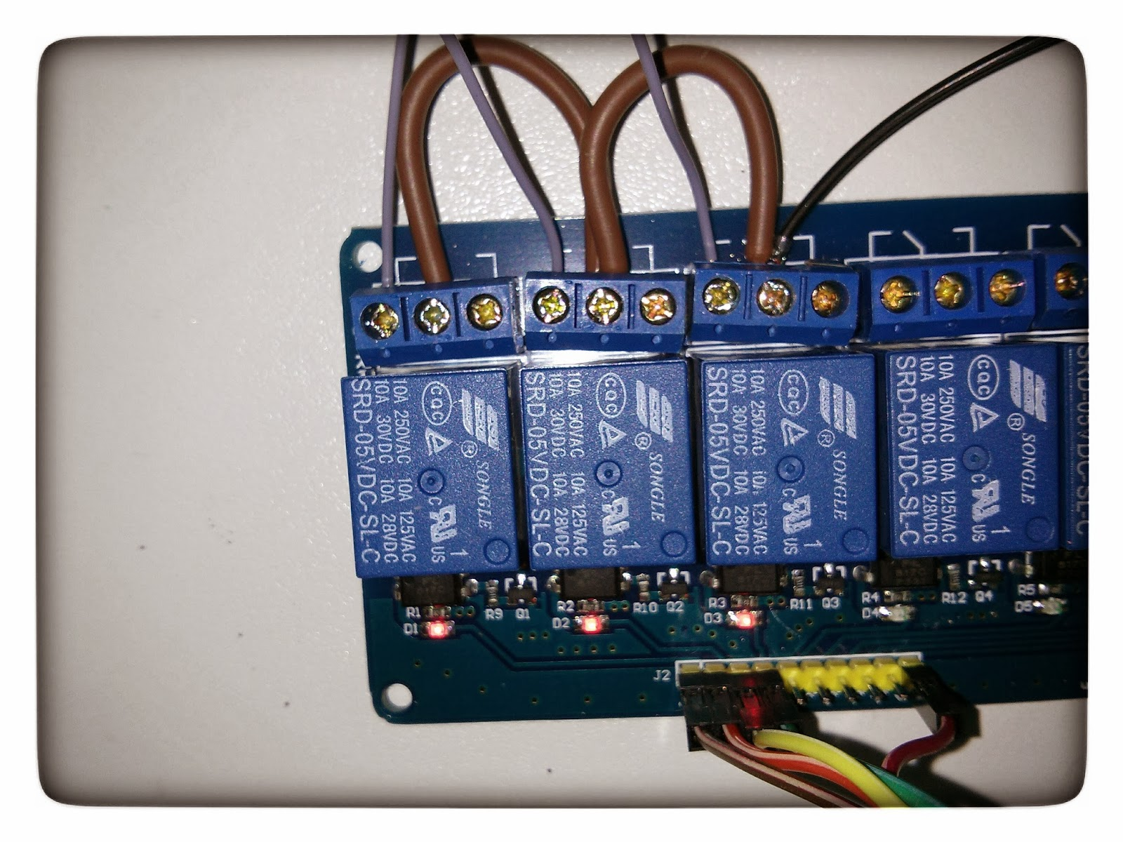 Technotes Relay Switch Board