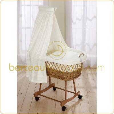comme sur des roulettes le lit de b b. Black Bedroom Furniture Sets. Home Design Ideas