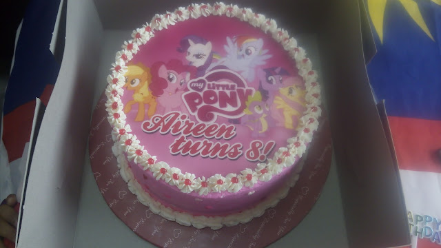 tema birthday cake : my little pony