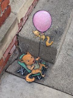 Seni Menggambar 3D di Jalanan dengan Kapur Yang Keren Kreatif dan Sangat Menginspirasi-5