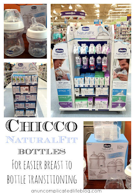 What bottles and nipples you use with your newborn matters! Try a wide base and soft silicone for easier breast to bottle transitioning. #ChiccoNaturalFit