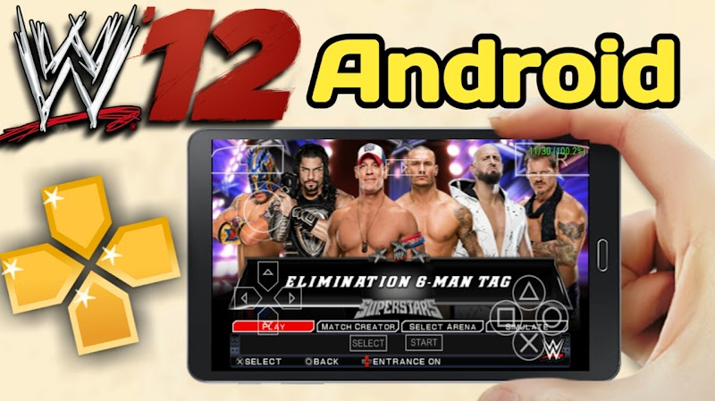 wwe 2k12 game for android|ppsspp|highly compressed
