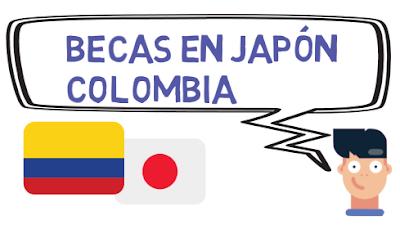 Becas en Japón para Colombia