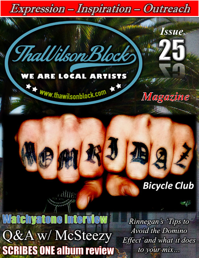 "ThaWilsonBlock Magazine Issue25 ""MoM Ridaz"""