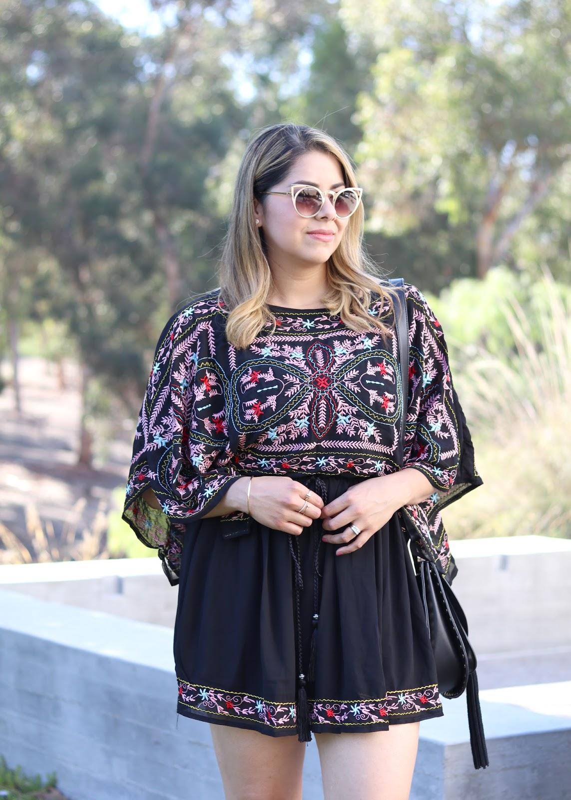 fun sunglasses, chicwish dress, what to wear this summer, fun little black dress