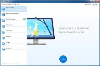 تحمیل برنامج تنظیف الجھاز من الملفات الزائدة CleanMyPC MacPaw كامل أحدث إصدار، برنامج تنظیف الكمبیوتر والويندوز وحذف الملفات الغیرھامة وبقايا ومخلفات البرامج والنظام وتنظیف الريجستري وإدارة برامج بدء تشغیل الويندوز وتسريع الإقلاع وإلغاء تثبیت البرامج وحذفھا من جذورھا وحذف إضافات متصفحات الانترنت والكثیر.