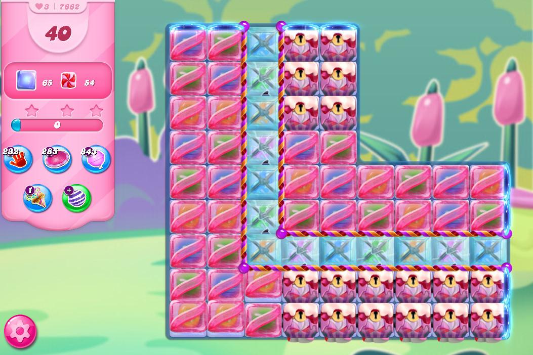 Candy Crush Saga level 7662