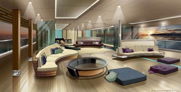 Maison moderne en l design int rieur yacht for Interni case lussuose
