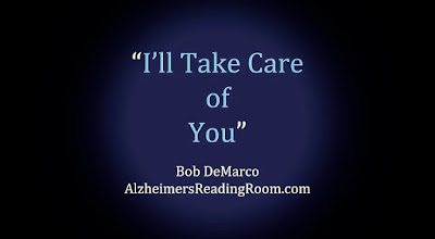 The importance of a daily routine in Alzheimer's care and dementia care cannot be underestimated.