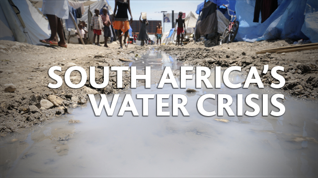 The water crisis in south africa
