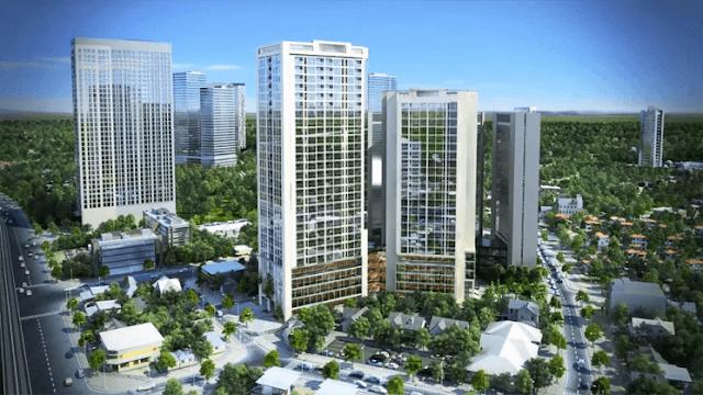 Tổng thể căn hộ chung cư 99 Trần Bình.