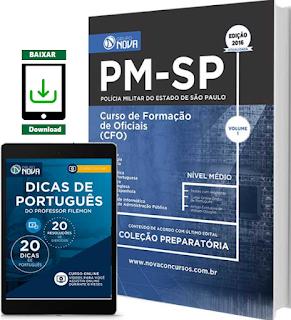 apostila da PM SP CFO - Curso de Formação de Oficiais 2016