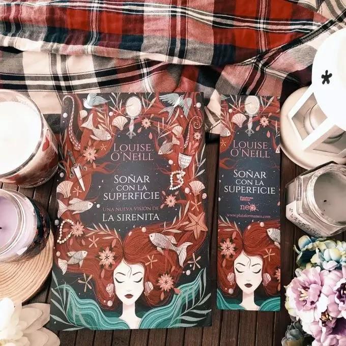 Foto del libro Soñar con la superficie de la autora Louise Oneill